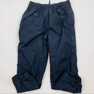 REI Black Outdoor Unlined Snow Pants Sz Med Pet